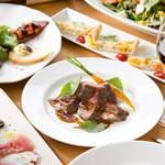 ダブルメインディッシュと旬の食材を満喫する『旬の味覚コース』