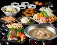 人気の博多もつ鍋がついたリッチな宴会!季節の宴会、打ち上げなどにもオススメ♪