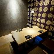 個室のサイズも2名~60名用ととても豊富。ゆったりとくつろげる掘りごたつのお席や、盛り上がれるオシャレなテーブル席も。その時々のニーズに合わせてお選びください。