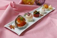 季節の手毬寿司盛合せ