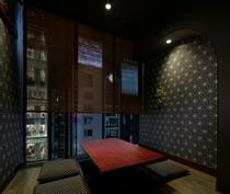 ムードのあるおしゃれな個室は接待やデートにぴったり