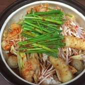 地元名古屋の赤味噌と赤唐辛子を使用した『赤から鍋』