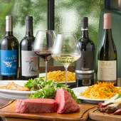 シチリアワインは常時30~40種類はそろっている