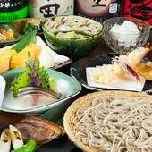各種宴会から会食にぴったりの『石の膳』『月の膳』