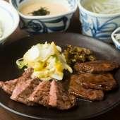 牛たんと和牛、両方を味わえる『特上青葉御膳』