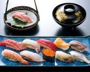 店長・料理長のおすすめと、好みの握りを選べる『岬 Misaki』