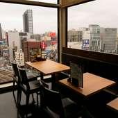 東京の街並みを見下ろしながら、優雅なひとときを満喫