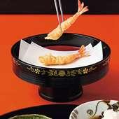 巧みな技でサクッと仕上げられる『天ぷら』が絶品