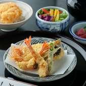 職人の揚げたて天ぷらを気軽に味わえる『天ぷら膳 箱根』