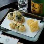 切れ味が良く、天ぷらと相性抜群『天一オリジナル日本酒』