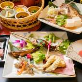 新鮮な三重県産の海の幸を肴に、昼からお酒を楽しむ贅沢な時間
