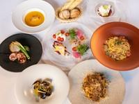 コネッサの旬の食材を味わえ、リーズナブルに一通りのメニューが楽しめるオススメコース