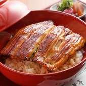 戦前から引き継ぐ秘伝の特製たれ使用。深みのある旨みを味わう『鰻丼』