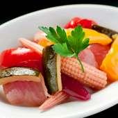三浦野菜のランビックピクルス/LAMBIC PICKLED VEGGIES