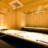 温かなおもてなしに満ちた、九州創作料理を味わえる個室居酒屋