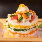SNSで人気の寿司ケーキ