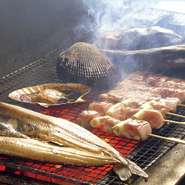 旬をむかえた新鮮な魚介・野菜等を、一番美味しい調理法でご提供いたします。