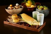 旬の素材をまるごと味わう前菜『5種のフィンガーフード』