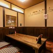 掘りごたつの完全個室は3室