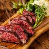 鹿児島産A5ランク黒毛和牛の熟成肉 150g