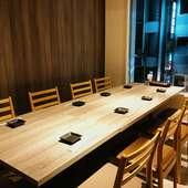 完全個室なので、他のお客様とのソーシャルディスタンスを確保♪