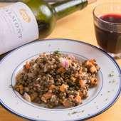 本場・フランスの食堂で愛される『レンズ豆のサラダ』