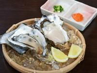 年中味わえるのがうれしい『生牡蠣』