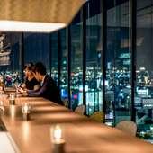地上80mから一望できる、名古屋の煌びやかな絶景!