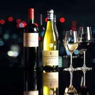 グラススパークリングワイン 1,000円 グラスシャンパーニュ 1,500円 本日ワイン/赤 900円 本日ワイン/白 900円 ソムリエセレクトワイン/赤 1,200円 ソムリエセレクトワイン/白 1,200円