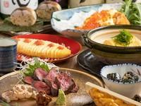 博多小島商店の名物料理や旬の鮮魚をお楽しみいただけるコースです。是非ご賞味ください。