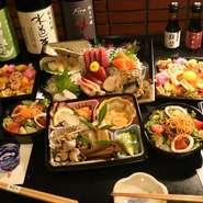 +1,000円でずわい蟹が追加できます。 1人前からご注文可能です。リモート飲み会や、ご家族での会食にも大変ご好評いただいております。