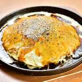 仕上げのパフォーマンスと食感がクセになる『広島炙りフワトロ』