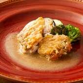 素材によって創意工夫を施す『本日のお魚料理』