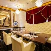 気品あふれる空間で、美味と共にゲストをおもてなし