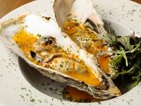 濃厚な自家製タルタルソースがたっぷりとかかった『牡蠣のタルタル』