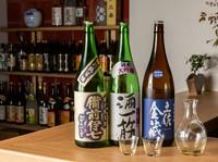 こだわりの味わい、料理に合わせて一献傾ける『日本酒』