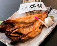 高級魚を贅沢に食す『特大とろきんき開き』