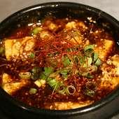 四川料理の名店で研鑽を積んだシェフならでは。本場の味を楽しめる『陳麻婆豆腐』