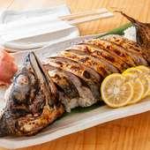 高知県の代表料理『焼きサバ姿寿司』