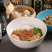 料理のコンセプトは「体が喜ぶ薬膳を混ぜたネオ台湾料理」