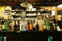 豊富な酒類のバリエーション