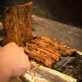 銀座で味わう自慢の鰻と炉端焼き