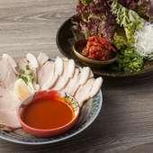 本場韓国でも大人気のメニュー『ポッサム蒸し豚キムチ』