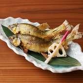 旬の魚を味わう『季節の焼き魚』