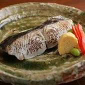 大きく上質な魚を厳選。自家製西京味噌に漬け、丁寧に仕上げた絶品『さわら西京焼き』