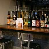 ワインやお酒も豊富で、単品も飲み放題もリーズナブル