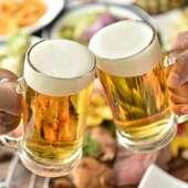 まずは当店自慢の世界ビールで乾杯!キンキンに冷やしてお待ちしております!