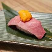 肉うに寿司