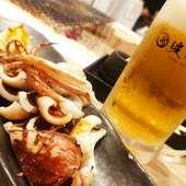 北海道ならではの海の幸を満喫!炙り焼きの盛り合わせ『北海道直送海鮮焼き盛り合わせ』