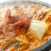 海鮮純豆腐チゲ